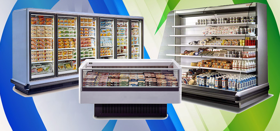 A commercial refrigerator needs maintenance